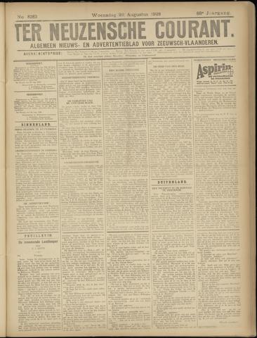 Ter Neuzensche Courant. Algemeen Nieuws- en Advertentieblad voor Zeeuwsch-Vlaanderen / Neuzensche Courant ... (idem) / (Algemeen) nieuws en advertentieblad voor Zeeuwsch-Vlaanderen 1928-08-22