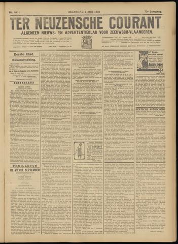 Ter Neuzensche Courant. Algemeen Nieuws- en Advertentieblad voor Zeeuwsch-Vlaanderen / Neuzensche Courant ... (idem) / (Algemeen) nieuws en advertentieblad voor Zeeuwsch-Vlaanderen 1932-05-02