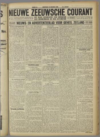 Nieuwe Zeeuwsche Courant 1923-11-22