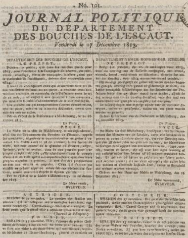 Middelburgsche Courant 1813-12-17