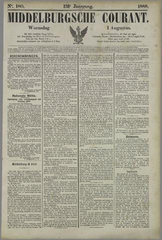 Middelburgsche Courant 1888-08-01