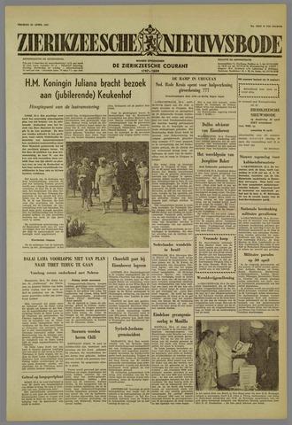 Zierikzeesche Nieuwsbode 1959-04-24