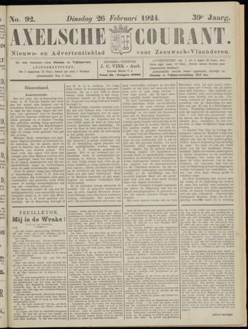 Axelsche Courant 1924-02-26