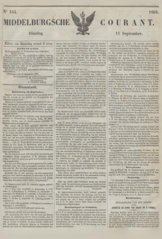 Middelburgsche Courant 1866-09-11