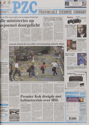 Provinciale Zeeuwse Courant 2004-09-10