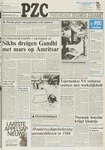 Provinciale Zeeuwse Courant 1984-09-03
