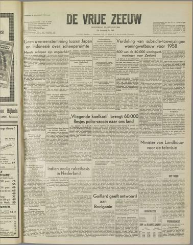 de Vrije Zeeuw 1958-01-15