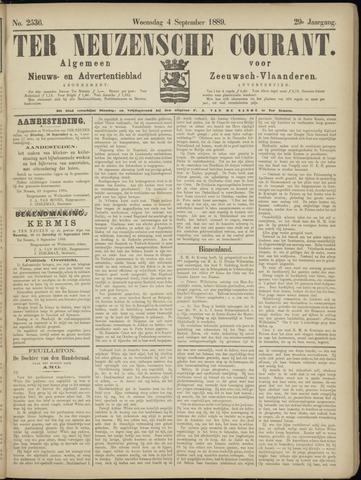Ter Neuzensche Courant. Algemeen Nieuws- en Advertentieblad voor Zeeuwsch-Vlaanderen / Neuzensche Courant ... (idem) / (Algemeen) nieuws en advertentieblad voor Zeeuwsch-Vlaanderen 1889-09-04