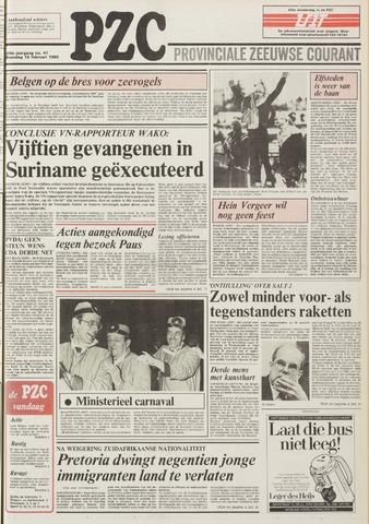 Provinciale Zeeuwse Courant 1985-02-18