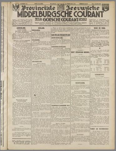 Middelburgsche Courant 1933-02-20