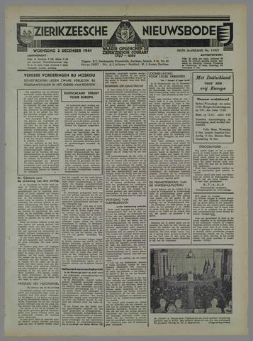 Zierikzeesche Nieuwsbode 1941-11-04