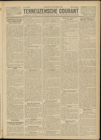 Ter Neuzensche Courant. Algemeen Nieuws- en Advertentieblad voor Zeeuwsch-Vlaanderen / Neuzensche Courant ... (idem) / (Algemeen) nieuws en advertentieblad voor Zeeuwsch-Vlaanderen 1942-10-12