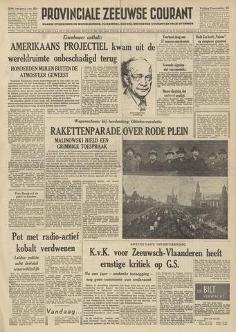 Provinciale Zeeuwse Courant 1957-11-08