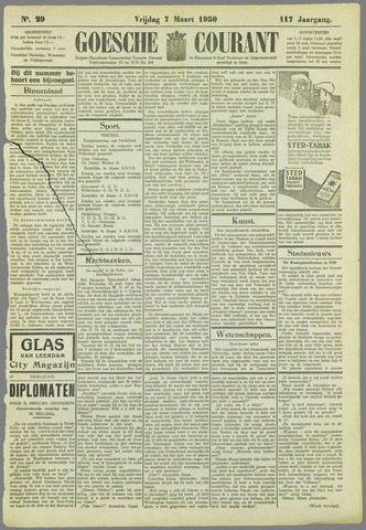 Goessche Courant 1930-03-07