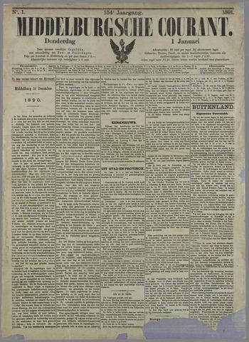 Middelburgsche Courant 1891-01-01