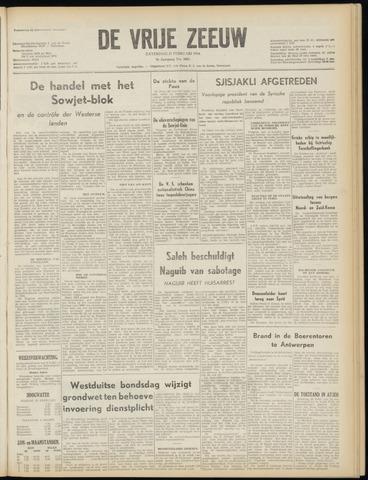 de Vrije Zeeuw 1954-02-27