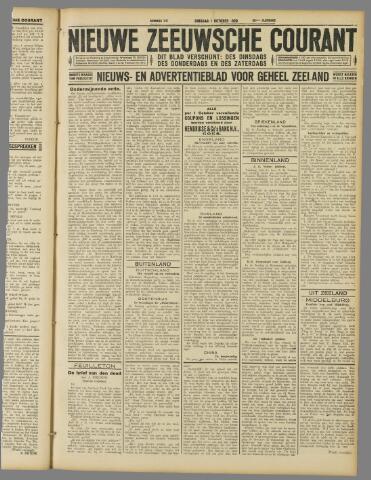 Nieuwe Zeeuwsche Courant 1929-10-01