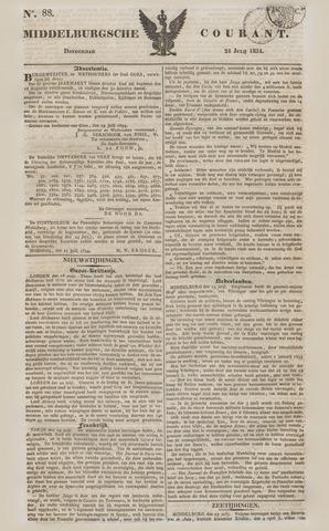 Middelburgsche Courant 1834-07-24