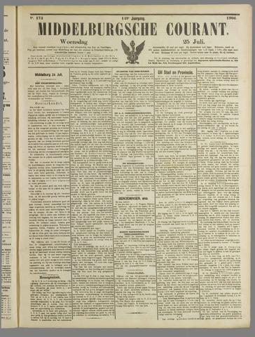 Middelburgsche Courant 1906-07-25