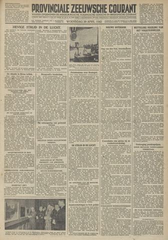 Provinciale Zeeuwse Courant 1942-04-29