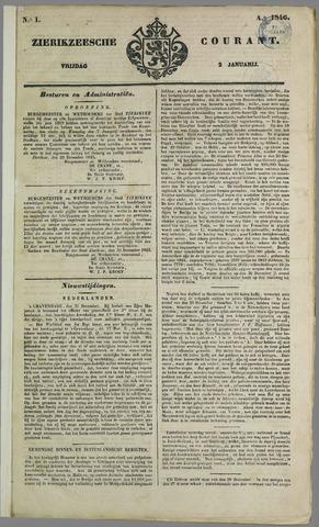 Zierikzeesche Courant 1846