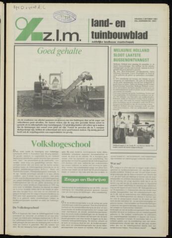 Zeeuwsch landbouwblad ... ZLM land- en tuinbouwblad 1981-10-02