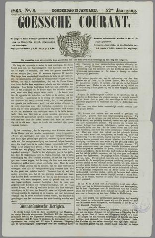 Goessche Courant 1865-01-12