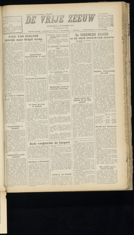 de Vrije Zeeuw 1947-11-19