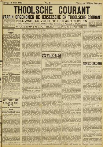 Ierseksche en Thoolsche Courant 1935-06-14