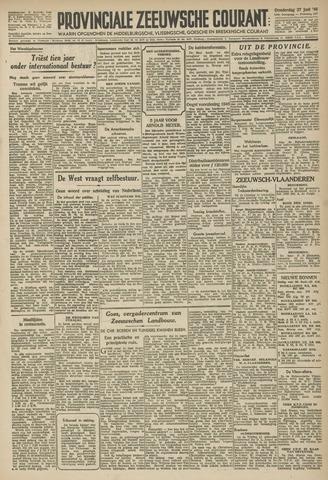 Provinciale Zeeuwse Courant 1946-06-27