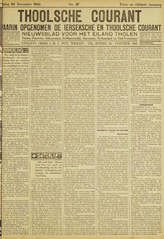 Ierseksche en Thoolsche Courant 1935-11-22