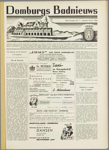Domburgsch Badnieuws 1966