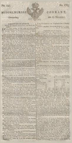 Middelburgsche Courant 1762-11-25