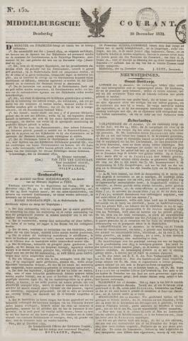 Middelburgsche Courant 1832-12-20
