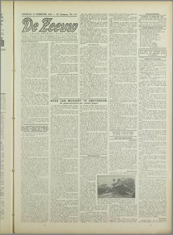 De Zeeuw. Christelijk-historisch nieuwsblad voor Zeeland 1943-02-16