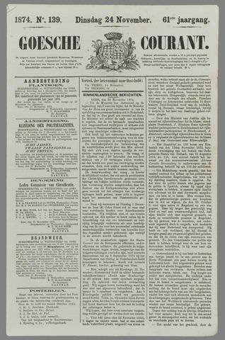 Goessche Courant 1874-11-24