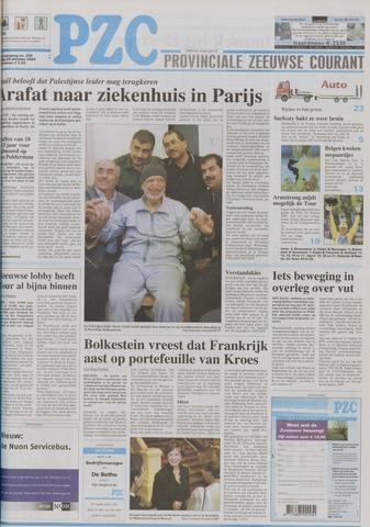 Provinciale Zeeuwse Courant 2004-10-29