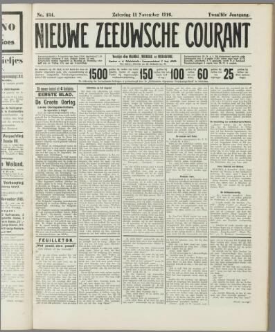 Nieuwe Zeeuwsche Courant 1916-11-11