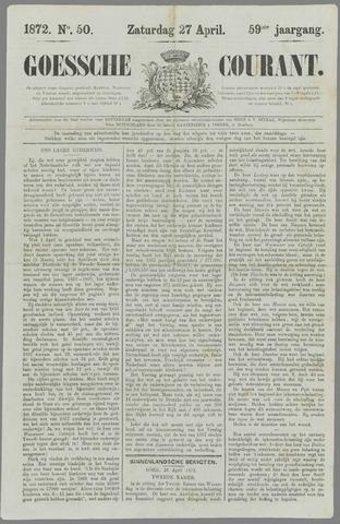 Goessche Courant 1872-04-27