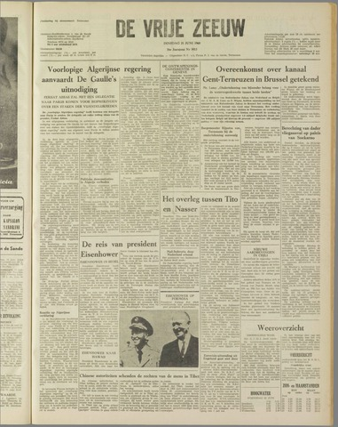 de Vrije Zeeuw 1960-06-21
