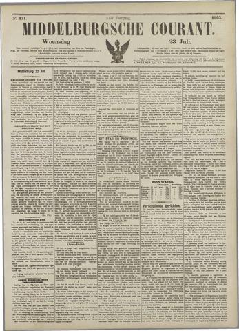 Middelburgsche Courant 1902-07-23
