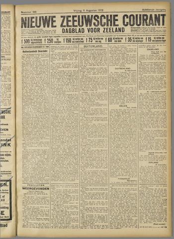 Nieuwe Zeeuwsche Courant 1922-08-11