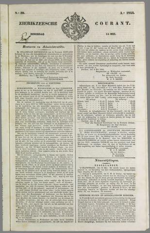 Zierikzeesche Courant 1844-05-14