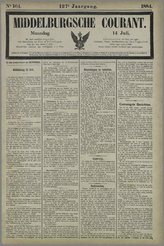 Middelburgsche Courant 1884-07-14