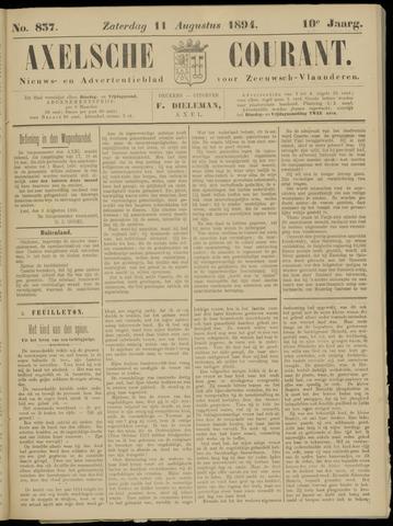 Axelsche Courant 1894-08-11