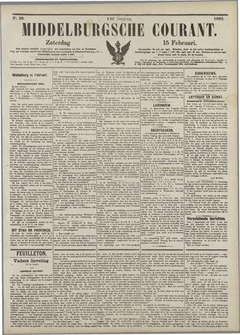 Middelburgsche Courant 1902-02-15