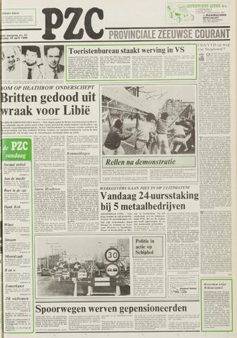 Provinciale Zeeuwse Courant 1986-04-18