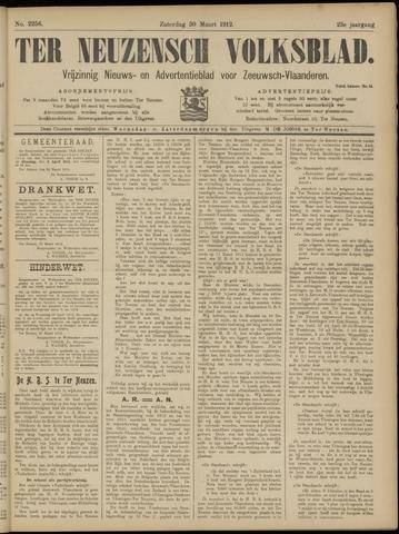 Ter Neuzensch Volksblad. Vrijzinnig nieuws- en advertentieblad voor Zeeuwsch- Vlaanderen / Zeeuwsch Nieuwsblad. Nieuws- en advertentieblad voor Zeeland 1912-03-30