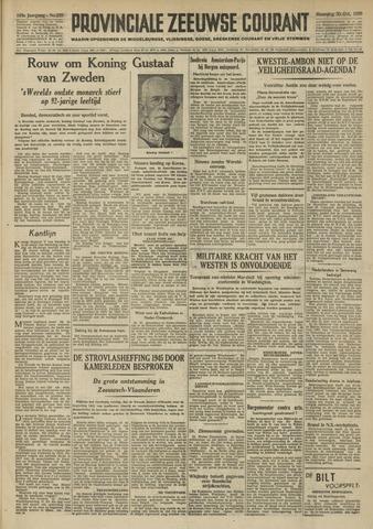 Provinciale Zeeuwse Courant 1950-10-30