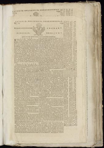 Middelburgsche Courant 1799-06-11